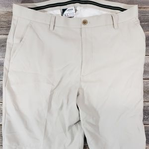 Mens Izod Golf Khaki Shorts